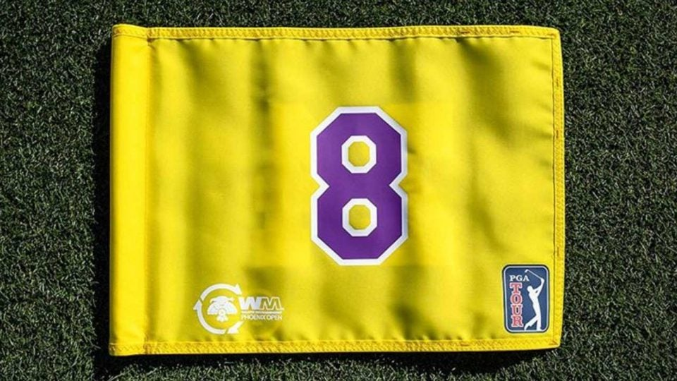 The special hole location will also have a flag with each of Bryant's numbers on it.