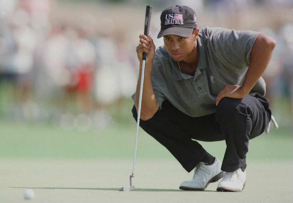 profundidad editorial Noche  Every single putter Tiger Woods has used in his golf career