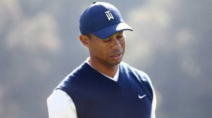 "Tiger Woods admitted that he's feeling ""run-down"" after shooting 76 on Saturday."
