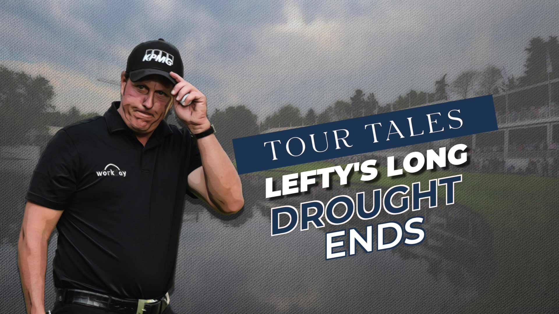 Tour Tales: Lefty's Long Drought Ends