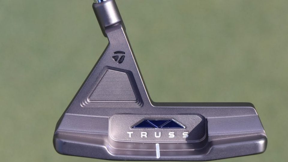 TaylorMade's Truss blends the stability of a mallet with a blade profile.