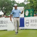 European Tour pro Jorge Campillo pictured during the final round of the 2019 Volvo China Open at Genzon Golf Club