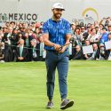 Erik Van Rooyen's unique Greyson Clothiers outfit stole the show during the final round of the WGC-Mexico Championship.