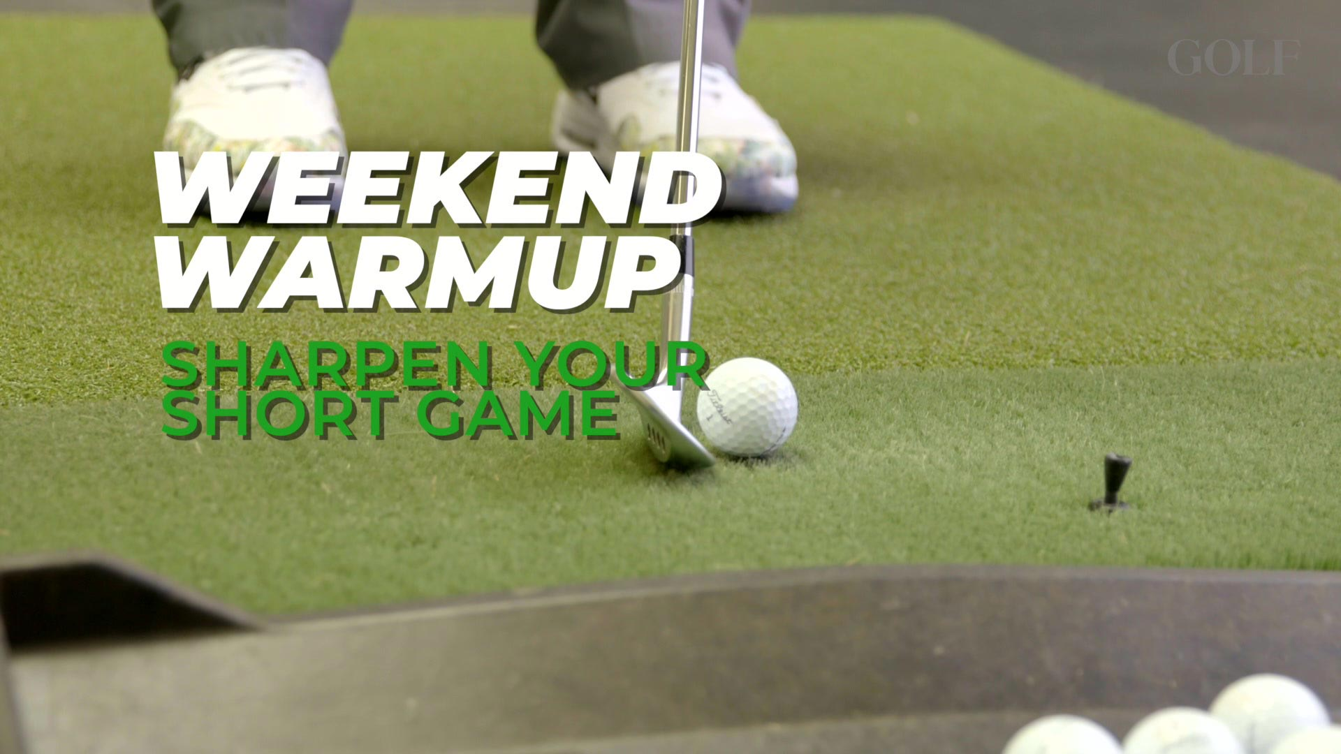 Weekend Warmup: Sharpen Your Short Game with four wedge shots