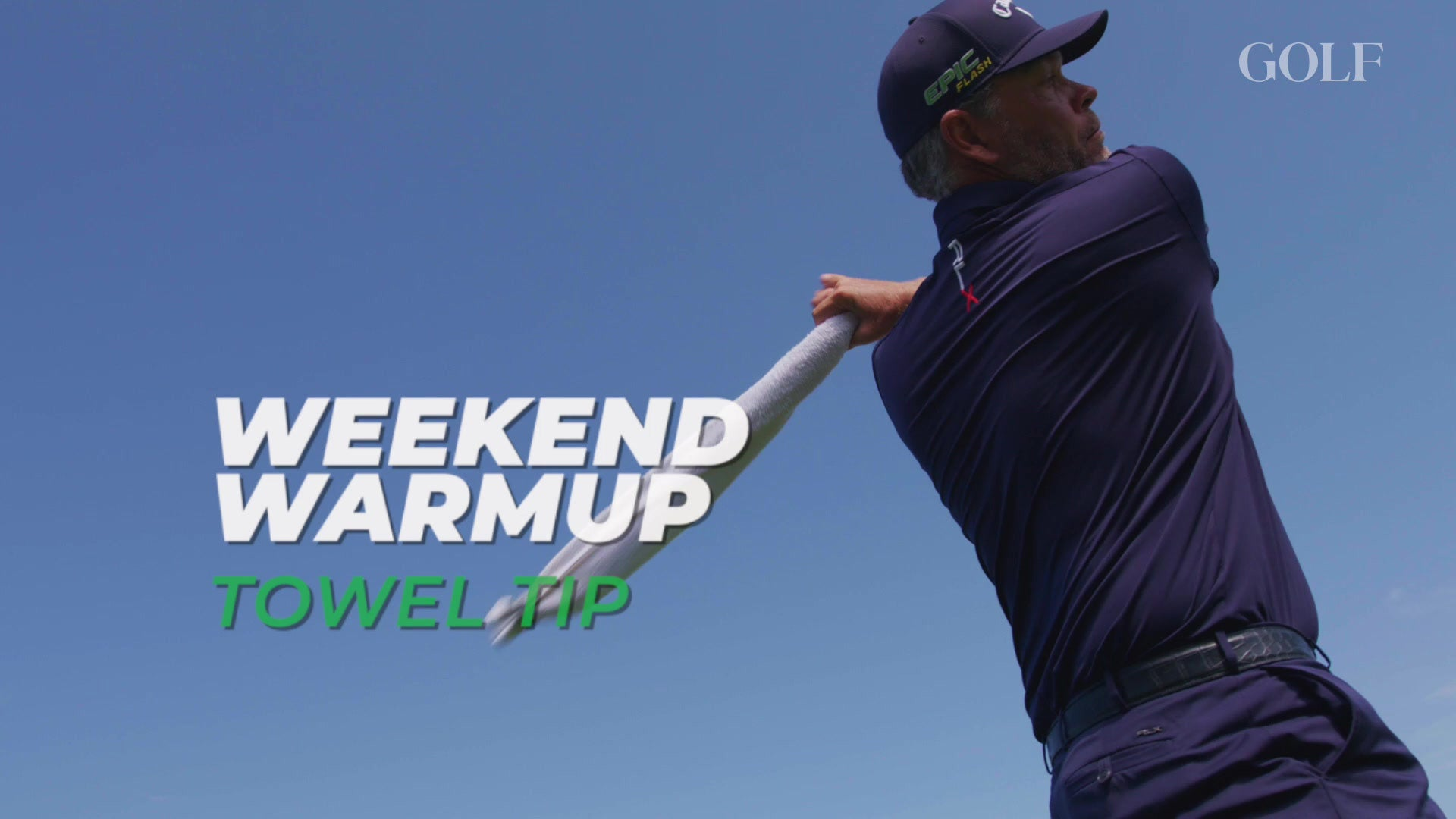 Weekend Warmup: Towel Tip to find swing faults