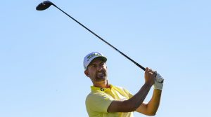 Webb Simpson used an impressive finish to win the Waste Management Phoenix Open.