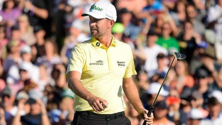 Webb Simpson says he's tried to learn from the philosophy of Amazon CEO Jeff Bezos.