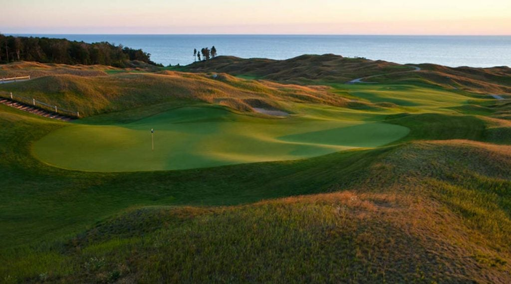 The views at Arcadia Bluffs don't disappoint.