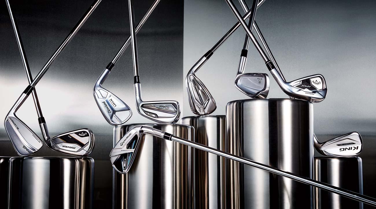 New golf irons