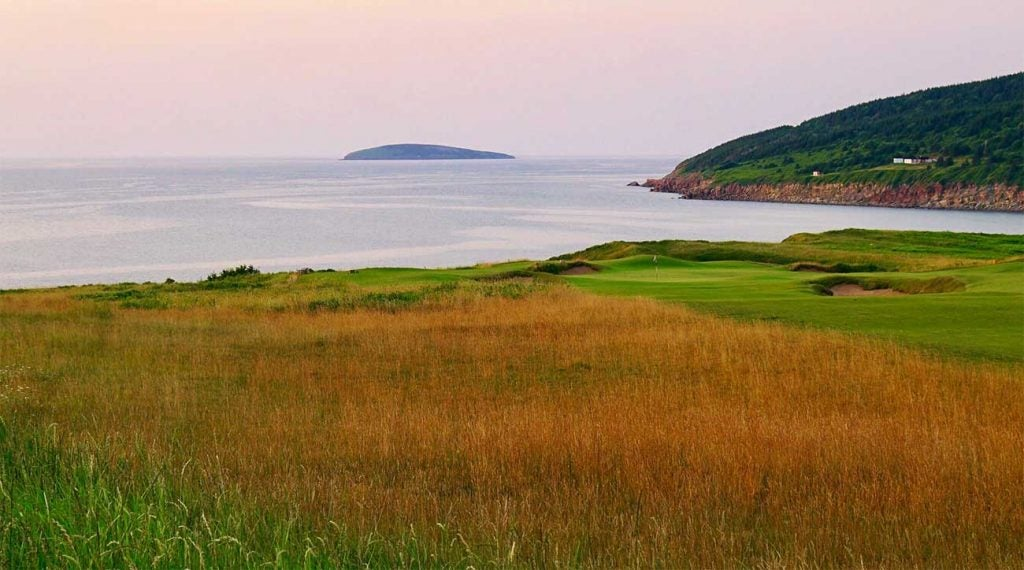 A view from Cabot Cliffs at Cabot Links in Nova Scotia.