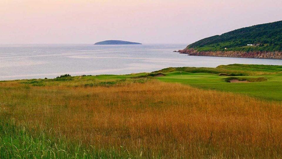Cabot Cliffs in Nova Scotia.