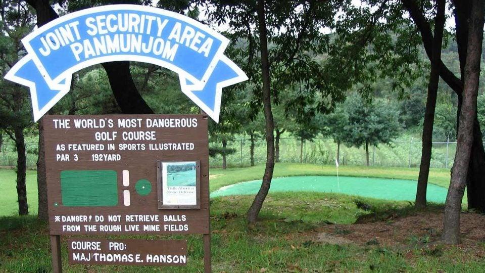 Camp Bonifas golf