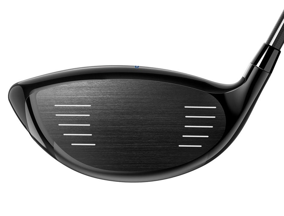 The face of the Cobra F-Max Airspeed Offset driver.