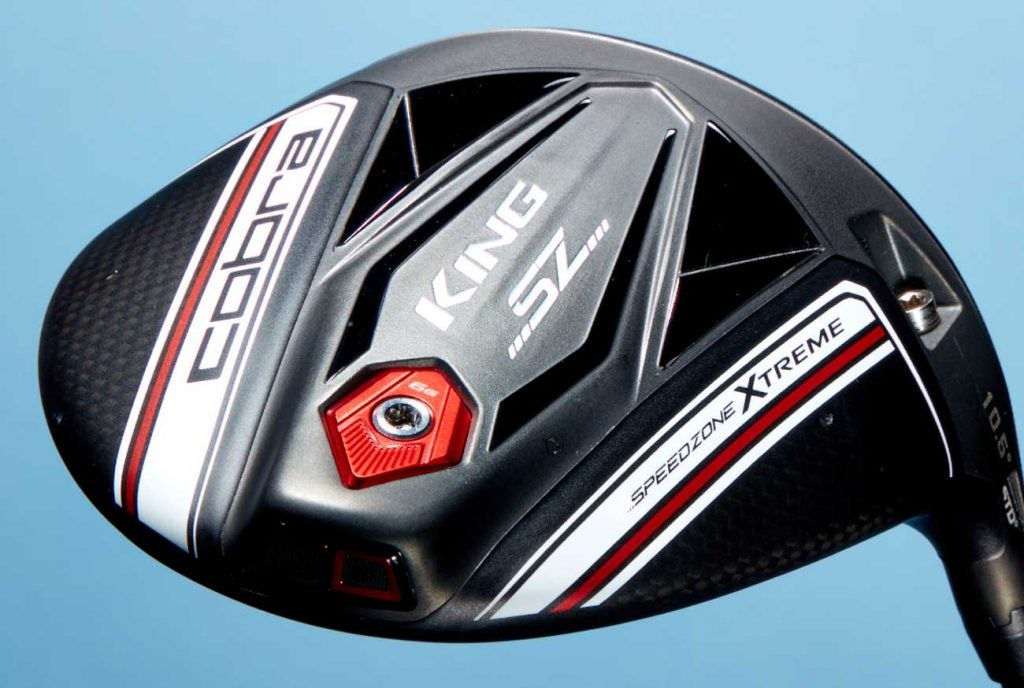 The Cobra King SpeeZone driver is also available in a larger 'Xtreme' version.