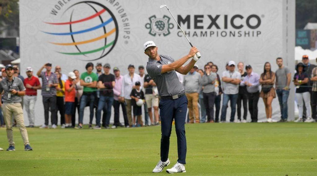 Dustin Johnson won the 2019 WGC-Mexico Championship.