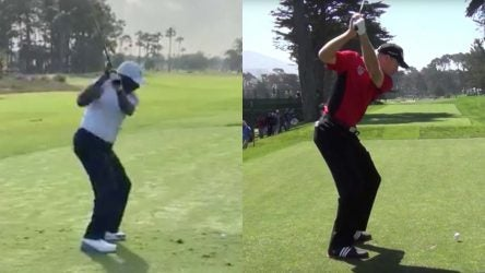 Jim Furyk was paired with his swing doppelgänger at the Honda Classic.