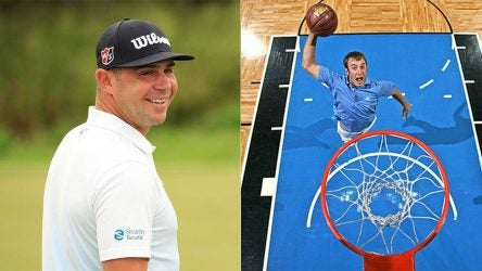 Gary Woodland says his basketball game can't be matched among PGA Tour pros. (Sorry, Dustin Johnson.)