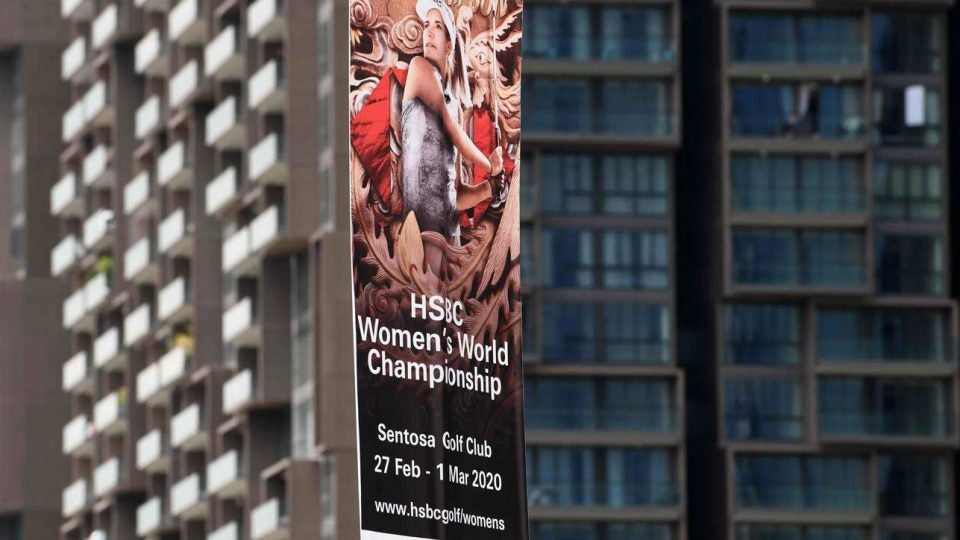 The HSBC Women's World Championship is one of a number of events affected by the coronavirus epidemic.