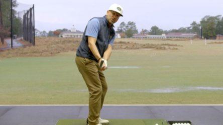 Top 100 Teacher Joe Plecker demonstrates how to hit a stinger