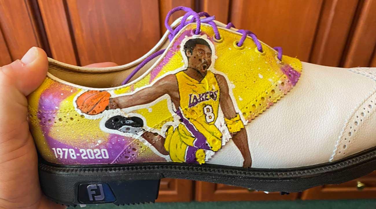 Justin Thomas unveils custom Kobe Bryant golf shoes for Genesis Invitational