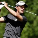 Mike Weir hits a tee shot at the Barracuda Championship.