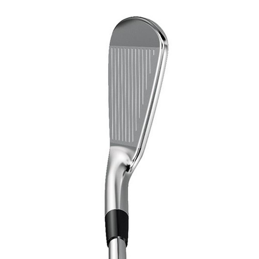 The Mizuno MP-20 MMC iron at address.
