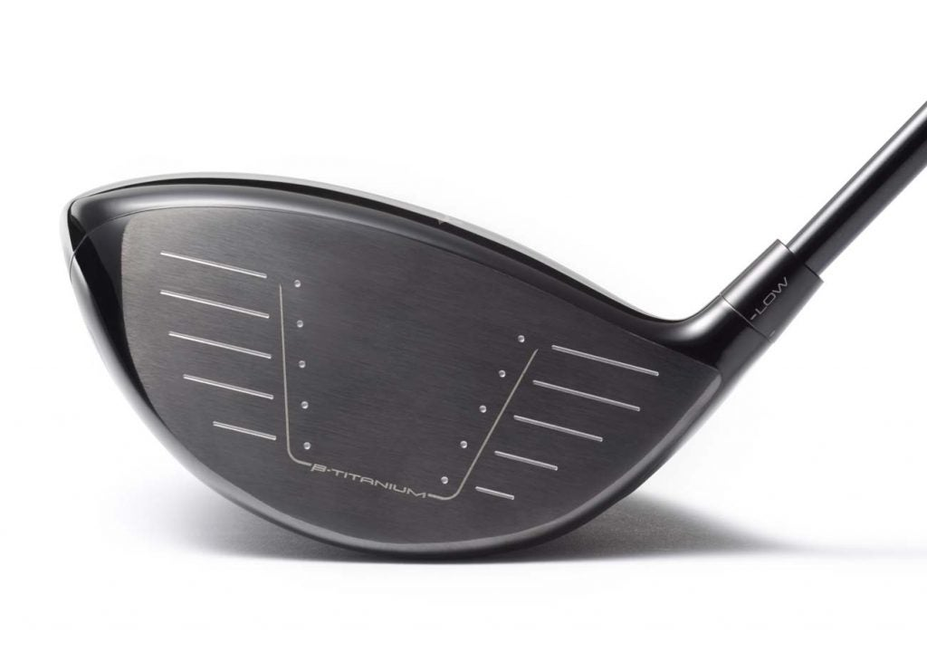 The face of the Mizuno ST200 driver.