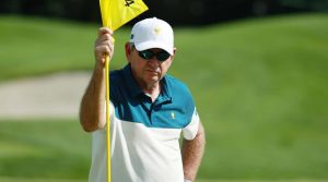 Nick Price captained the International team for the third time at the 2017 Presidents Cup.