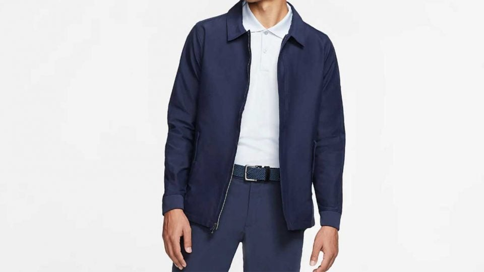 Navy Blue Nike Repel Player Jacket