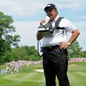 Peter Kostis reports during the Memorial Tournament.