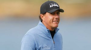 Phil Mickelson is coming off a third-place finish at Pebble Beach last week.