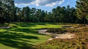 A view of Pinehurst No. 2 at Pinehurst Resort in North Carolina.