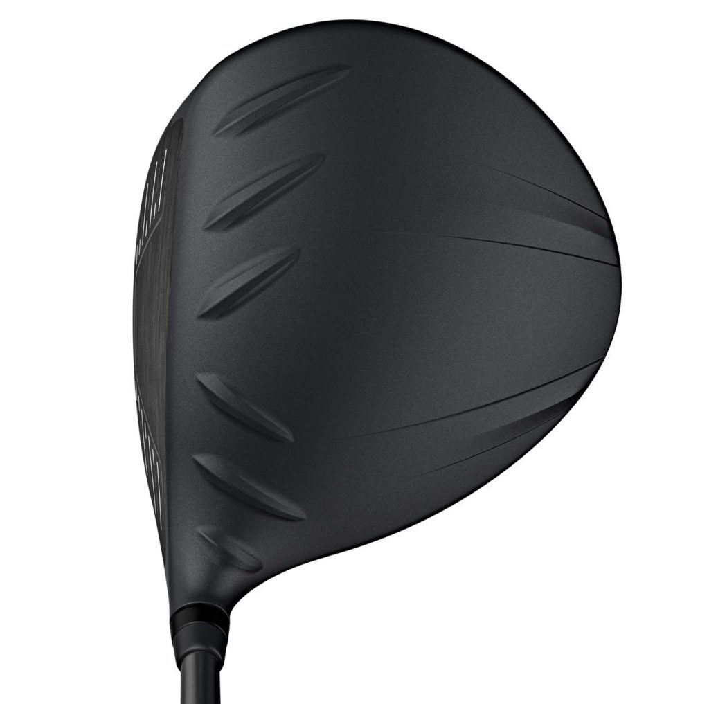 The Ping G410 Plus driver at address.