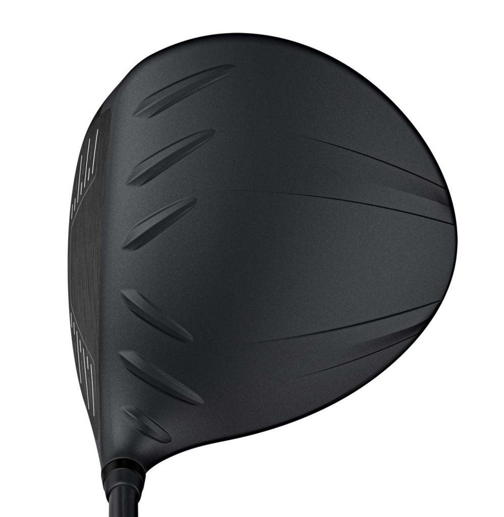 The PING G410 SFT driver. at address.