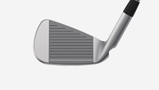 The face of the Ping i500 iron.