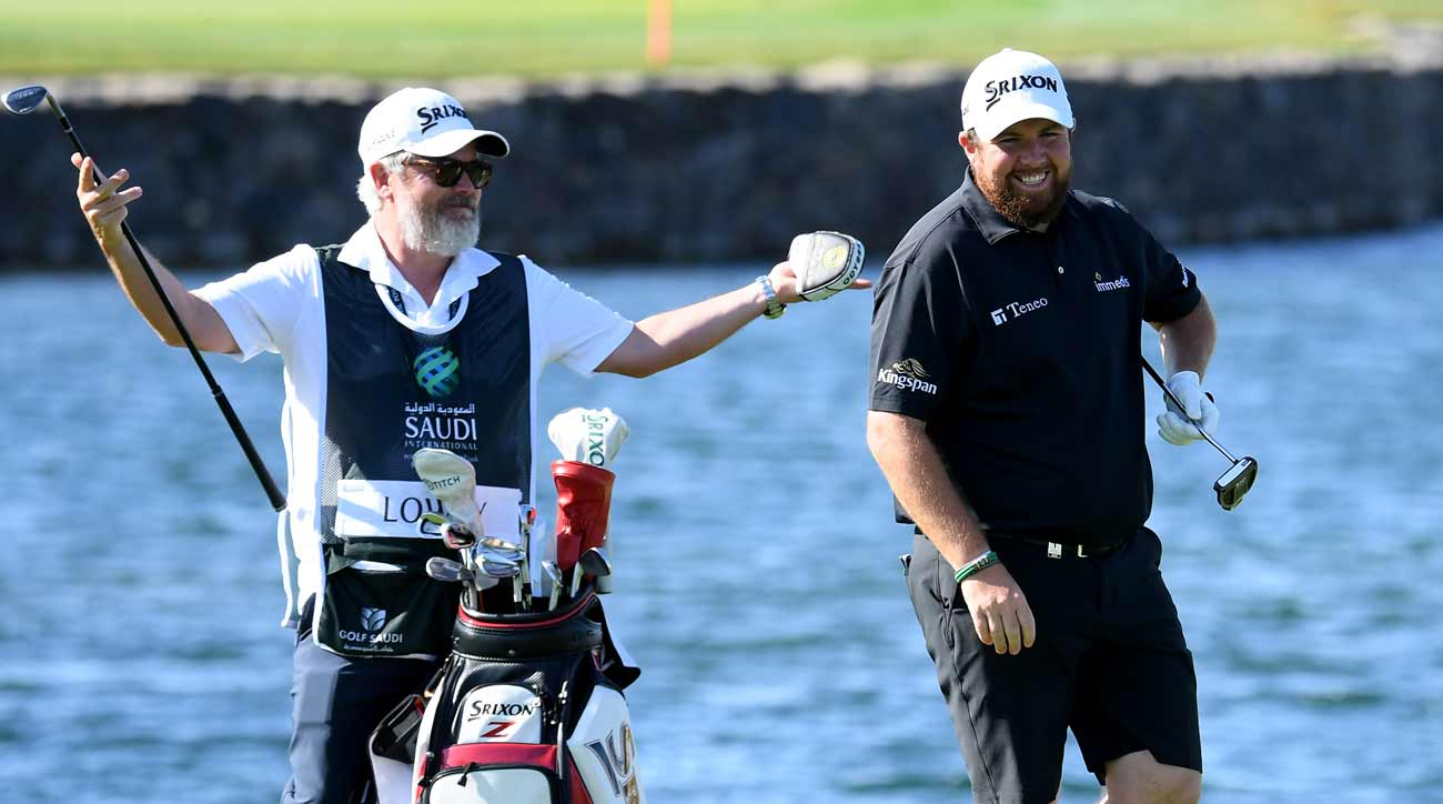 The worst thing a caddie can say to a golfer, according to Shane Lowry