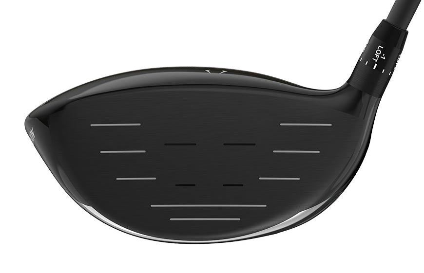 The face of the Srixon Z785 driver.