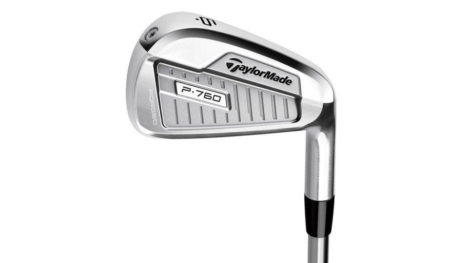 TaylorMade P760 irons.