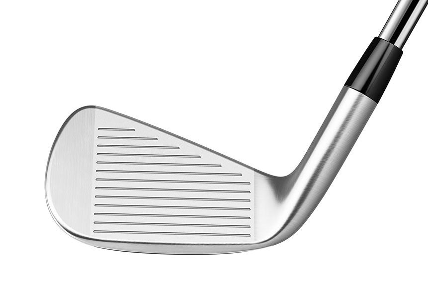 The face of the TaylorMade P790 iron.