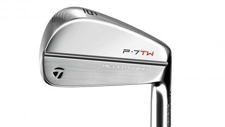 TaylorMade P7TW irons.