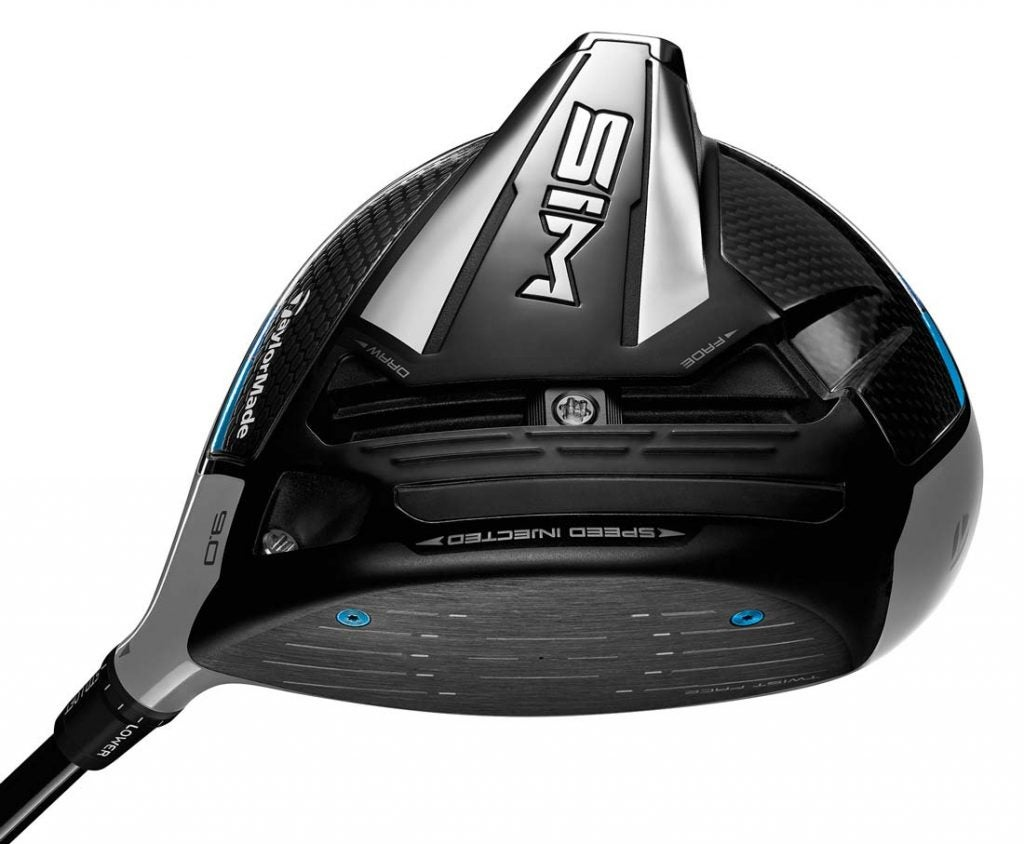 TaylorMade SIM driver.