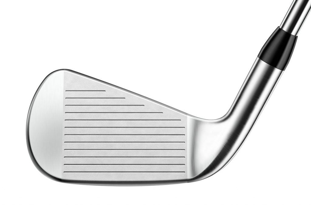 The face of the Titleist T200 iron.