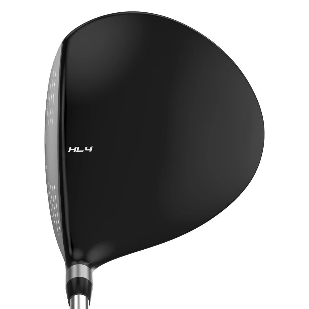The Tour Edge Hot Launch 4 driver at address.