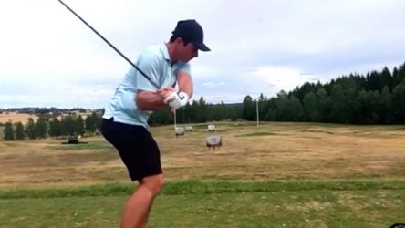 Use this drill to swing like Viktor Hovland.