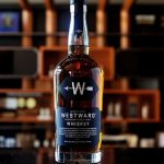Westward whiskey bottle