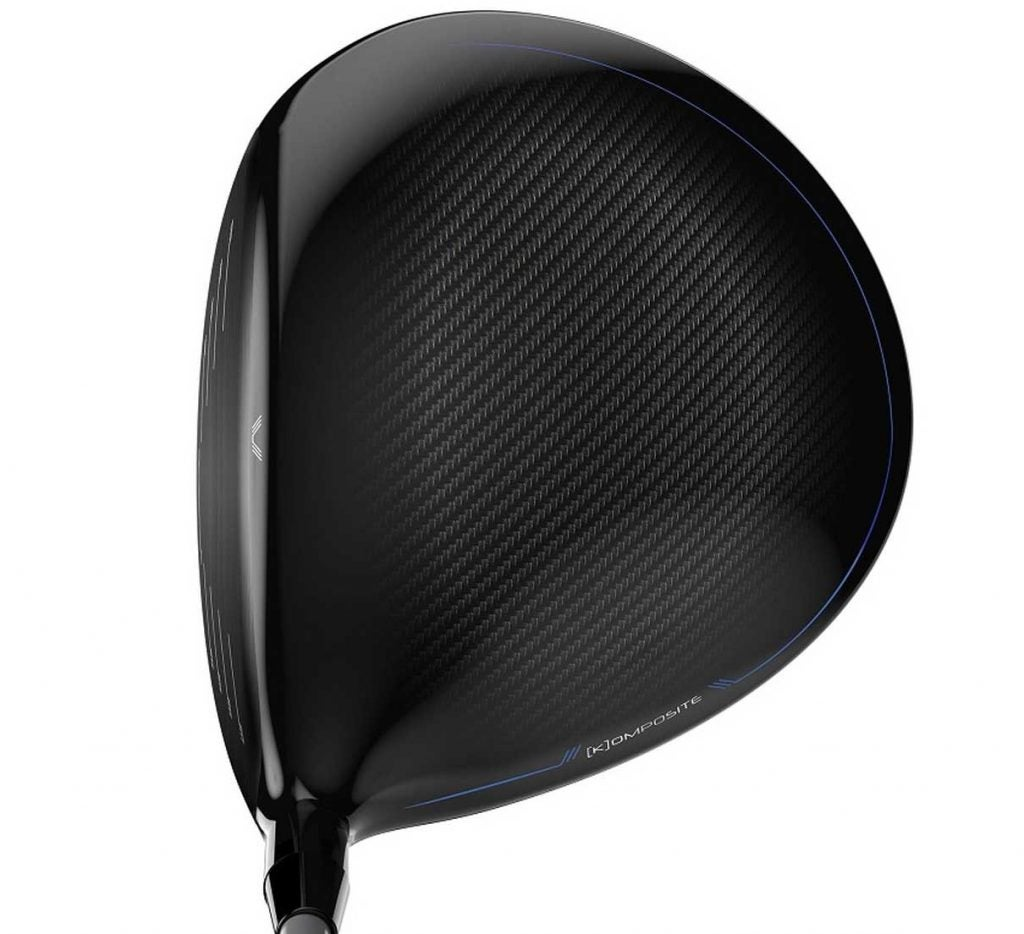 The Wilson D7 driver at address.
