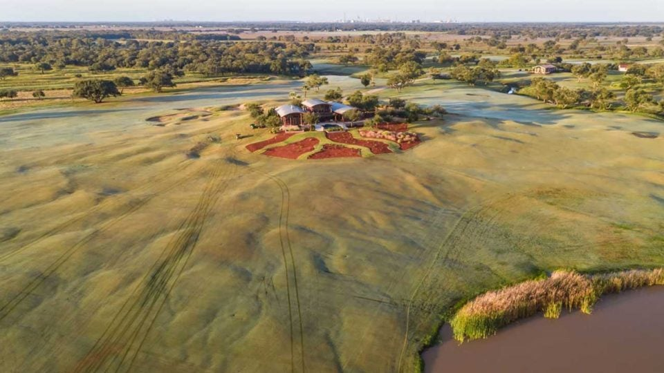 Wolf Point Golf Club in Texas
