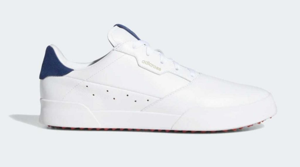 Up your golf style with these retro-inspired golf shoes from Adidas.