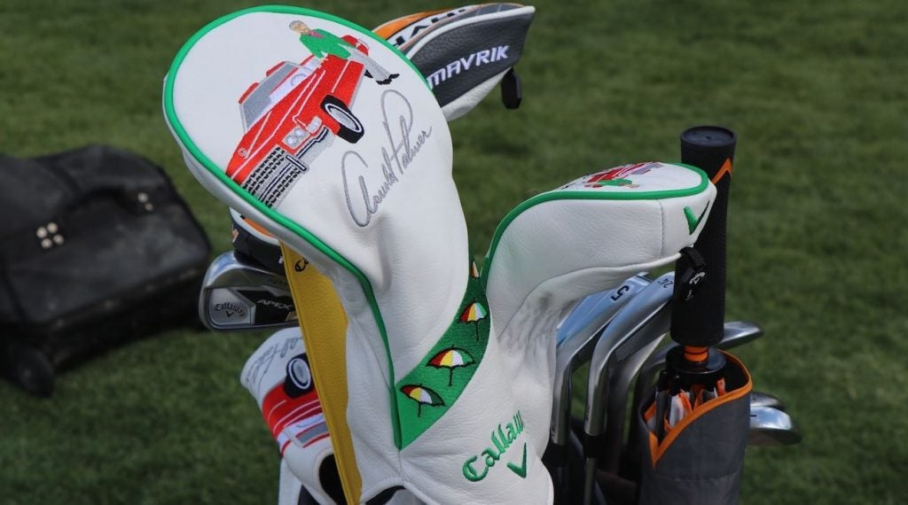 Callaway rolled out custom headcovers for the Arnold Palmer Invitational.