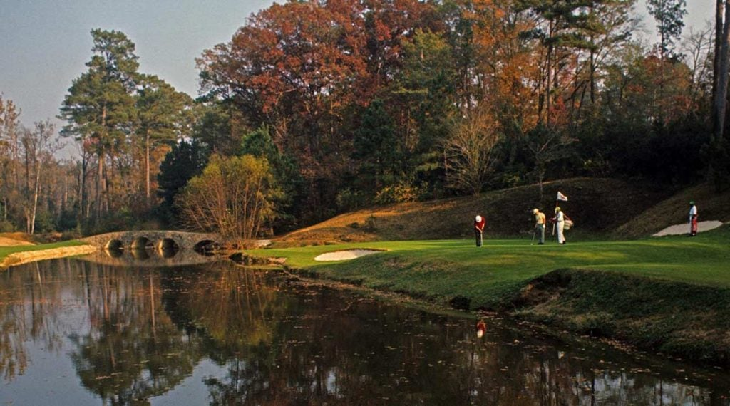 Augusta National in the fall? Yes please.